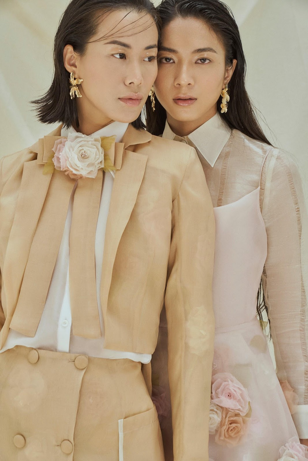 """fashion creation 2020 BST The Category Is: Bloom"""" - Lê Triệu Duy Anh."""