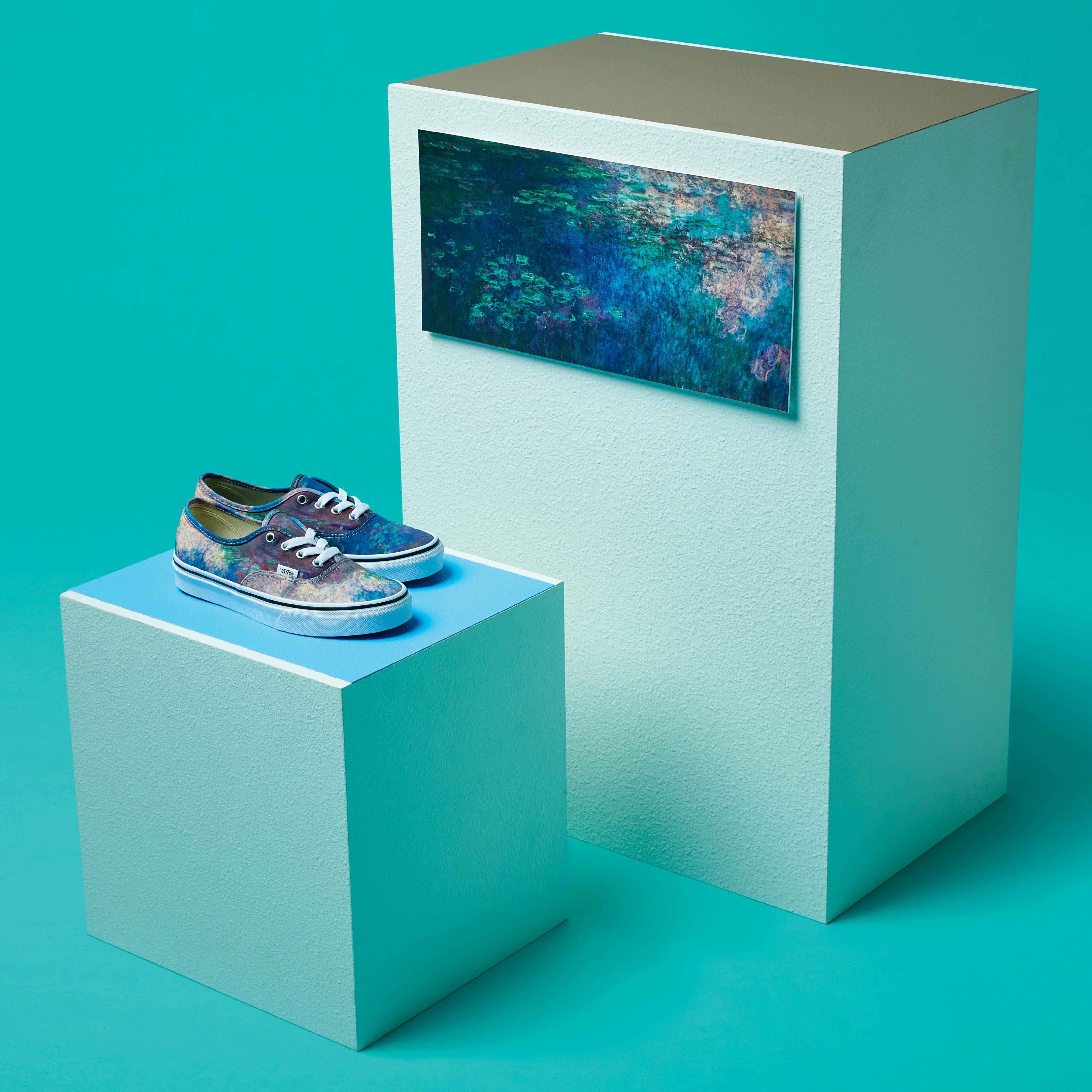 Vans và MoMA bộ sư tập hoành tráng nhất năm kết hợp với water lilies