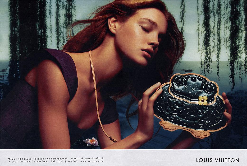 người mẫu thời trang natalia vodianova chiến dịch quảng cáo louis vuitton ss 2002