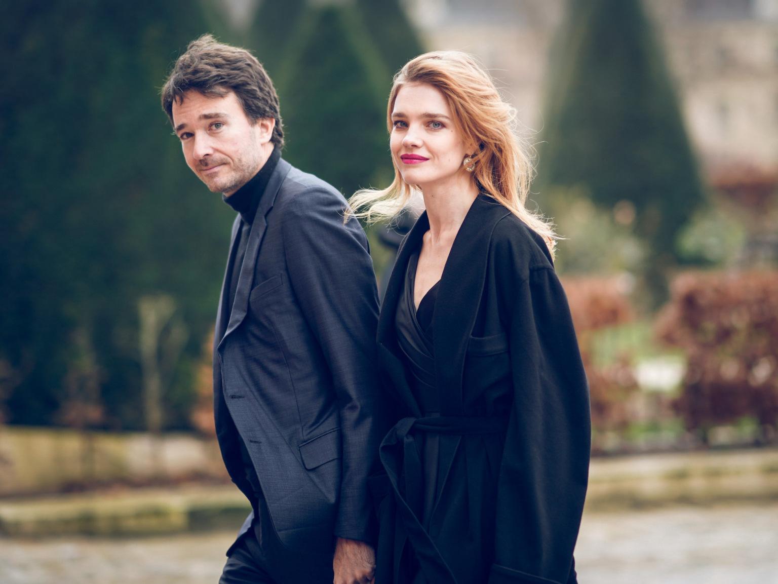 người mẫu natalia vodianova và Antoine Arnault
