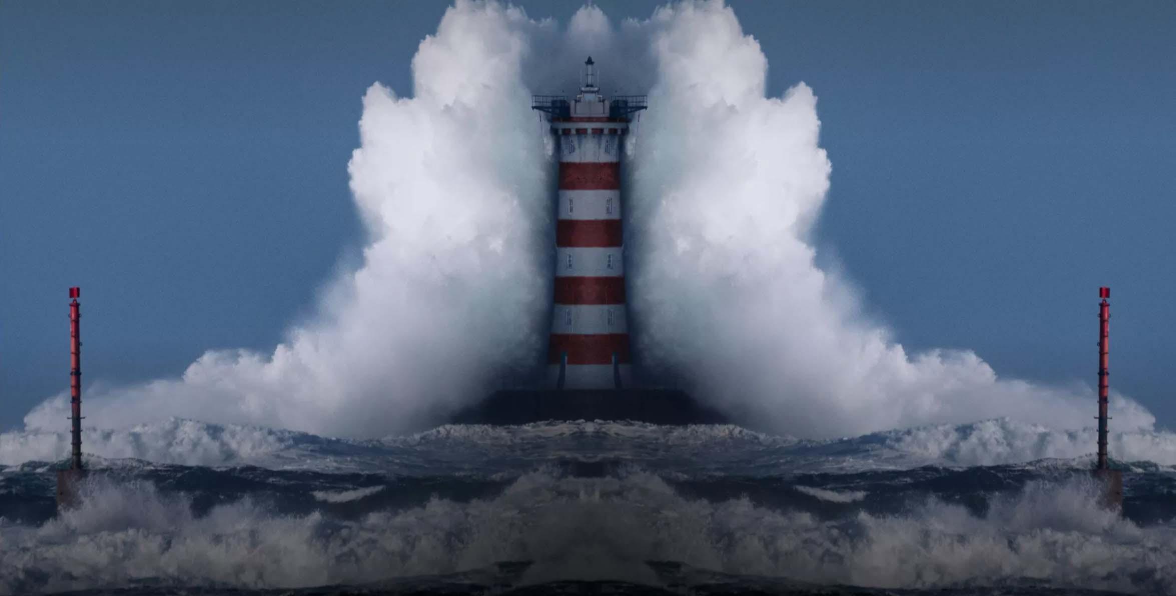 BST Xuân Hè của Burberry hình ảnh ngọn hải đăng