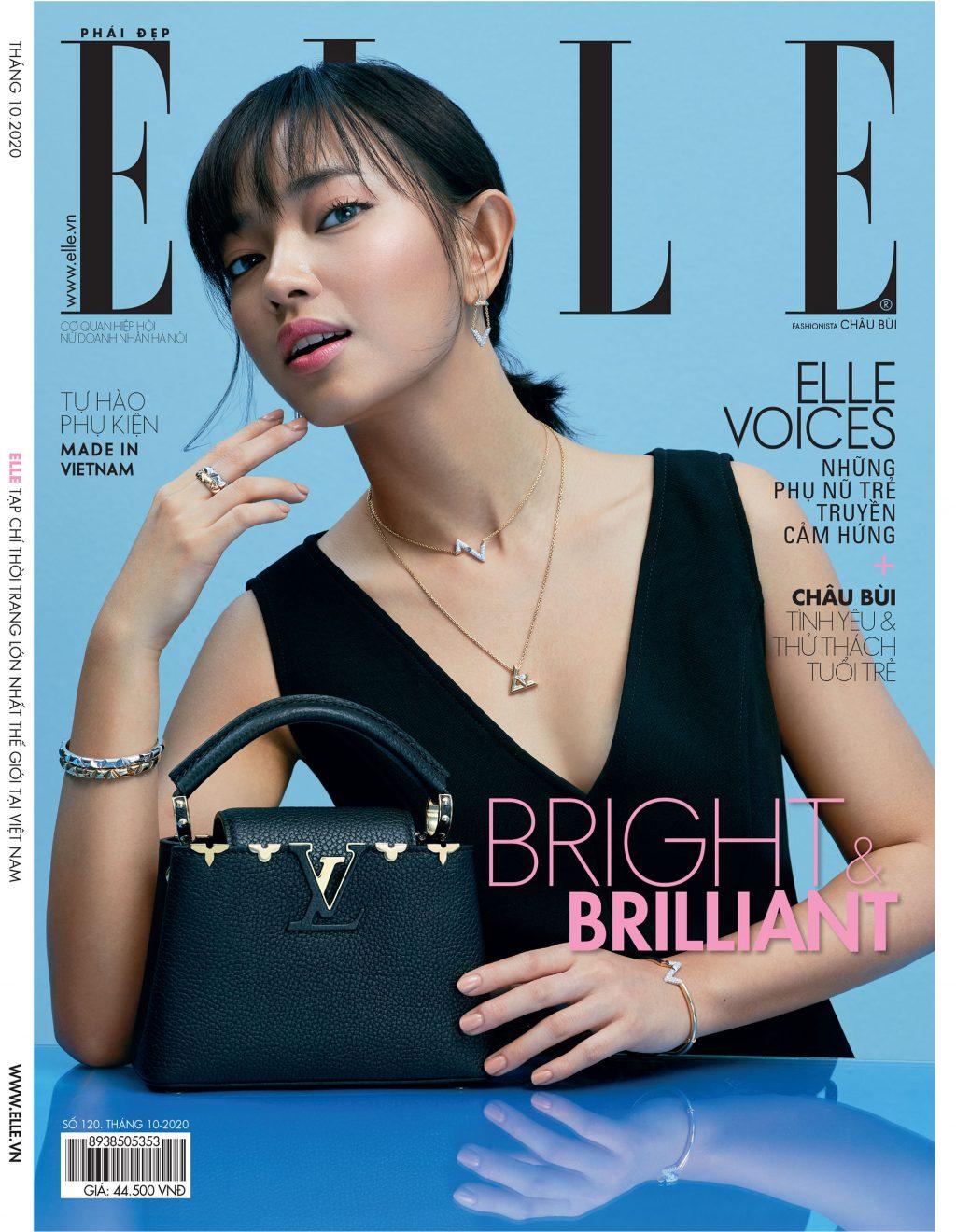 Tạp chí Phái đẹp ELLE Châu Bùi