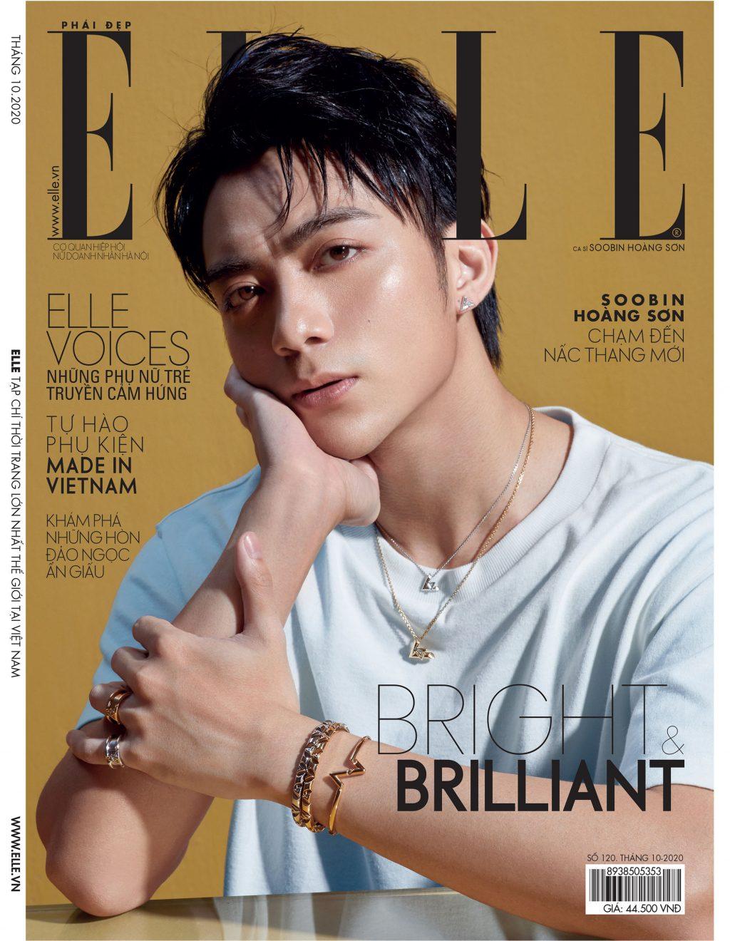 Tạp chí Phái đẹp ELLE Soobin