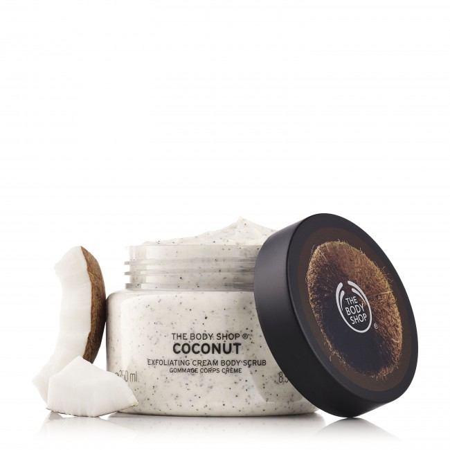 Tẩy Da Chết Coconut Exfoliating Cream Body Scrub