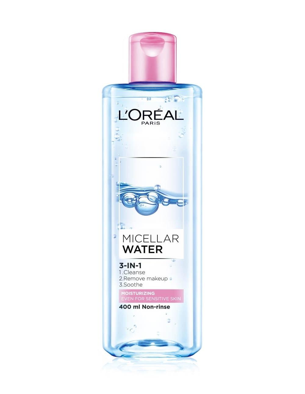 L'Oreal Micellar Water 3-in-1 Moisturizing.