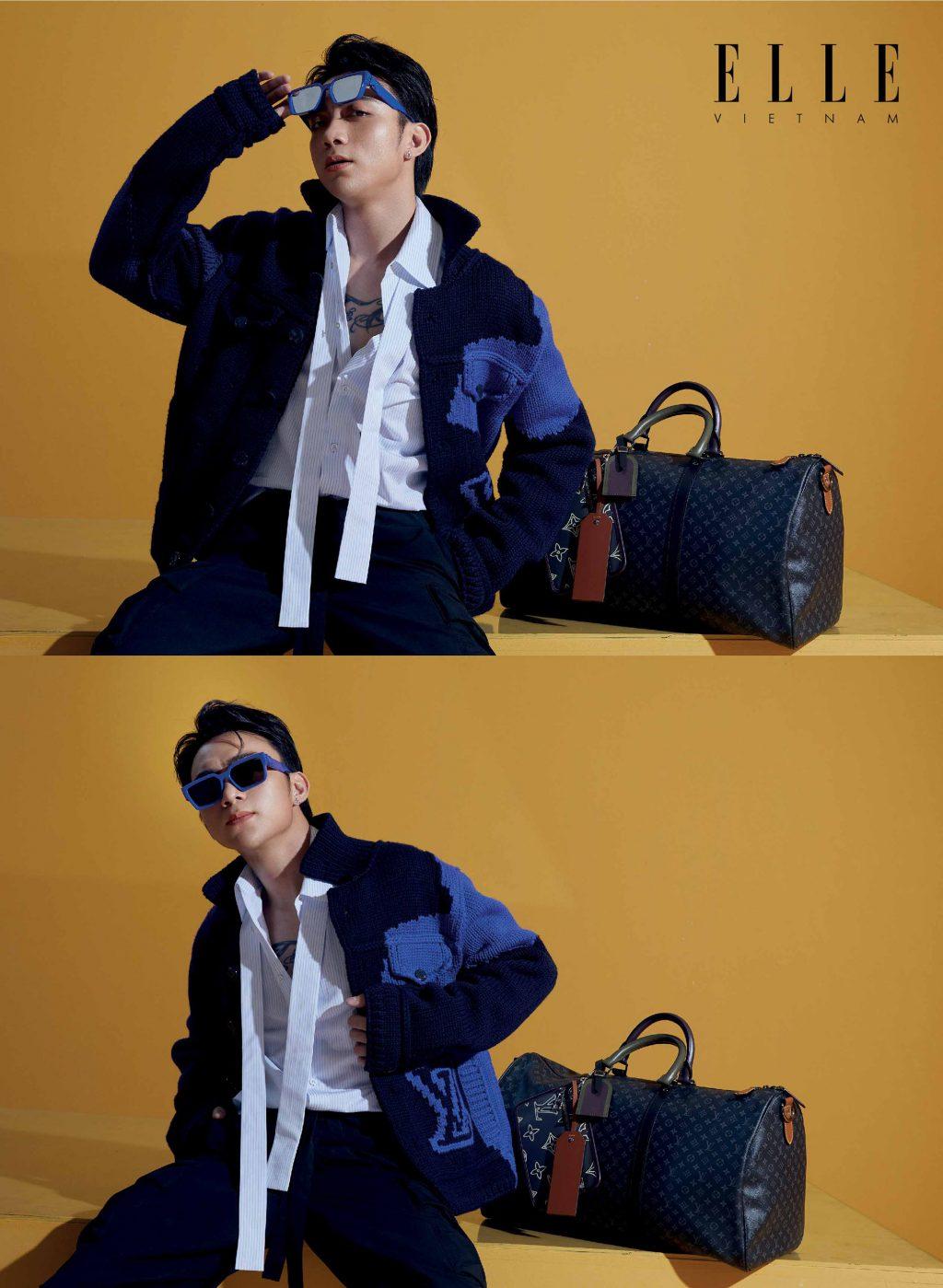 Soobin Hoàng Sơn trang phục nam LV