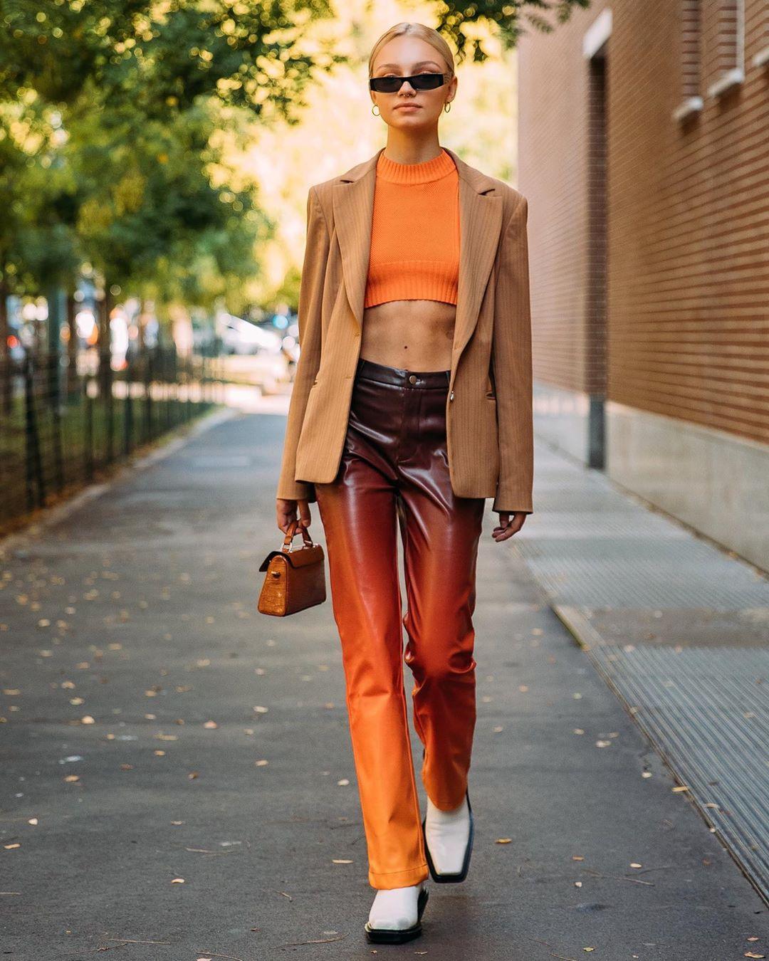 thời trang street style da