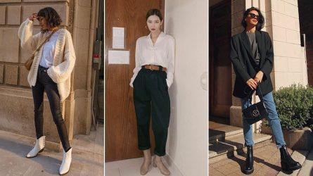 Bí quyết mặc đẹp không bao giờ lỗi mốt với quần jeans và boots