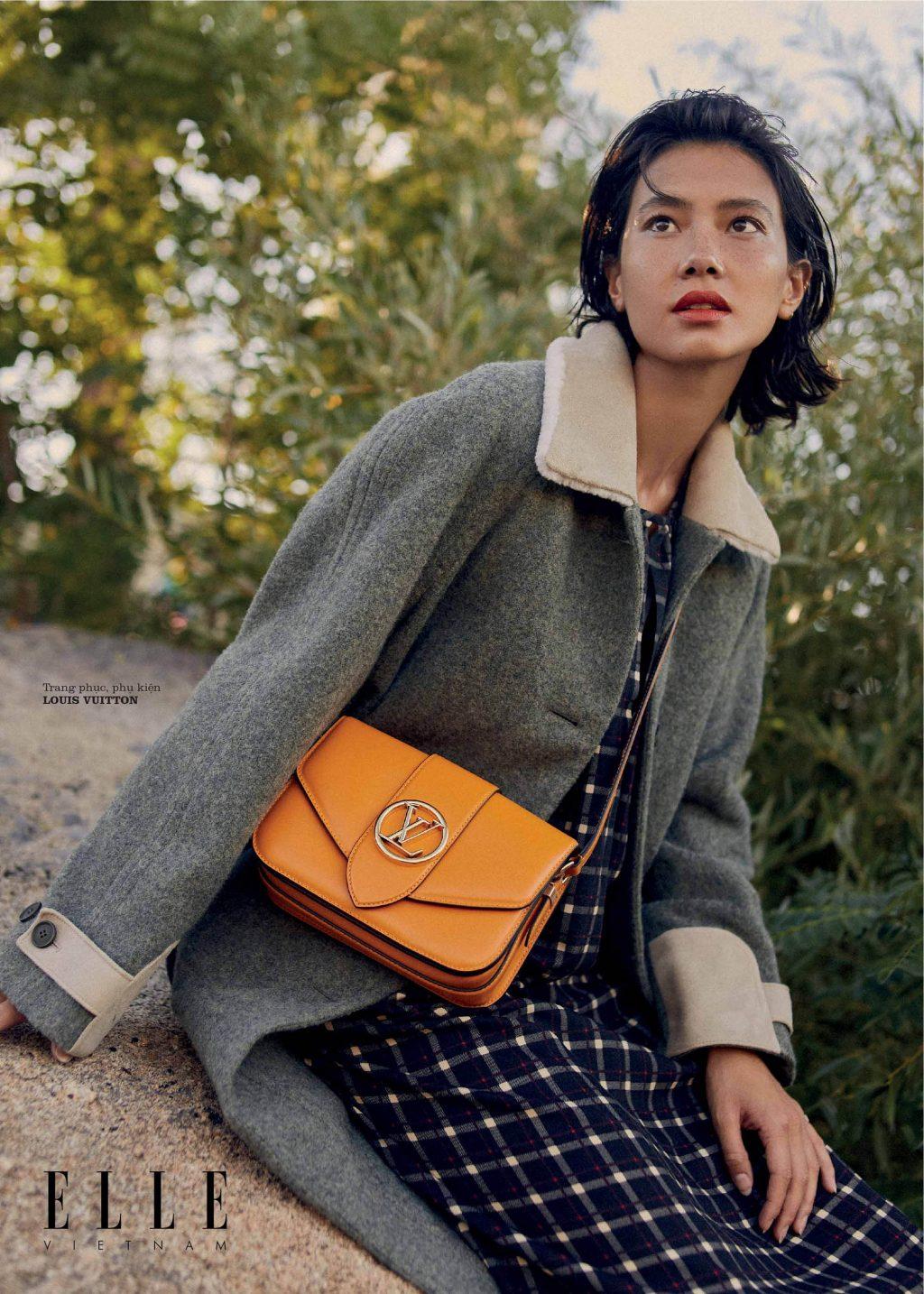 bộ ảnh thời trang Thu - Đông phụ kiện Louis Vuitton