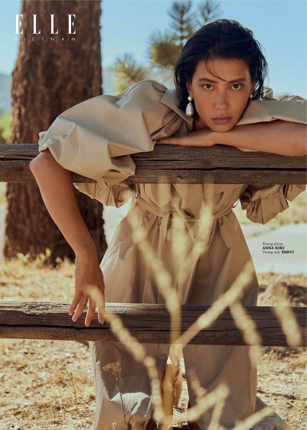 bộ ảnh thời trang Thu - Đông trang phục Anna Kiki