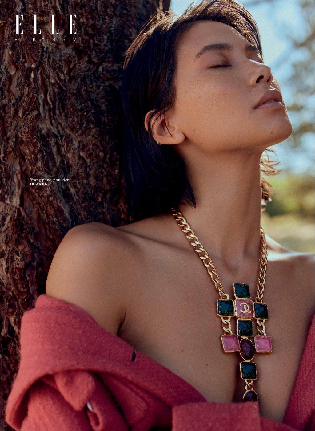 bộ ảnh thời trang Thu - Đông trang phục Chanel