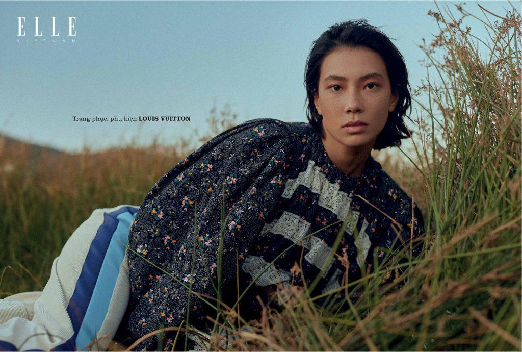 bộ ảnh thời trang Thu - Đông trang phục Louis Vuitton