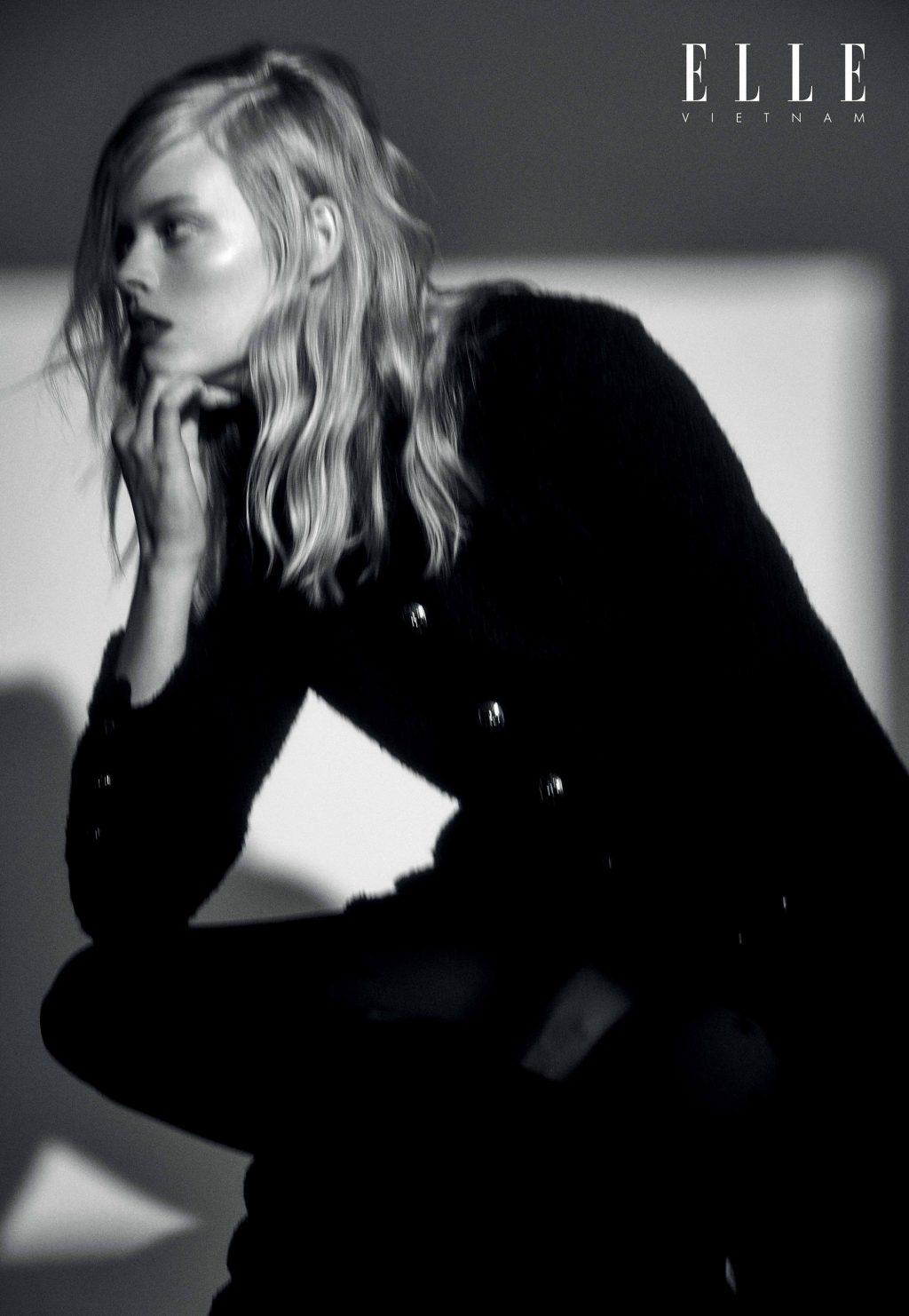 bộ ảnh trang phục Chanel thời trang