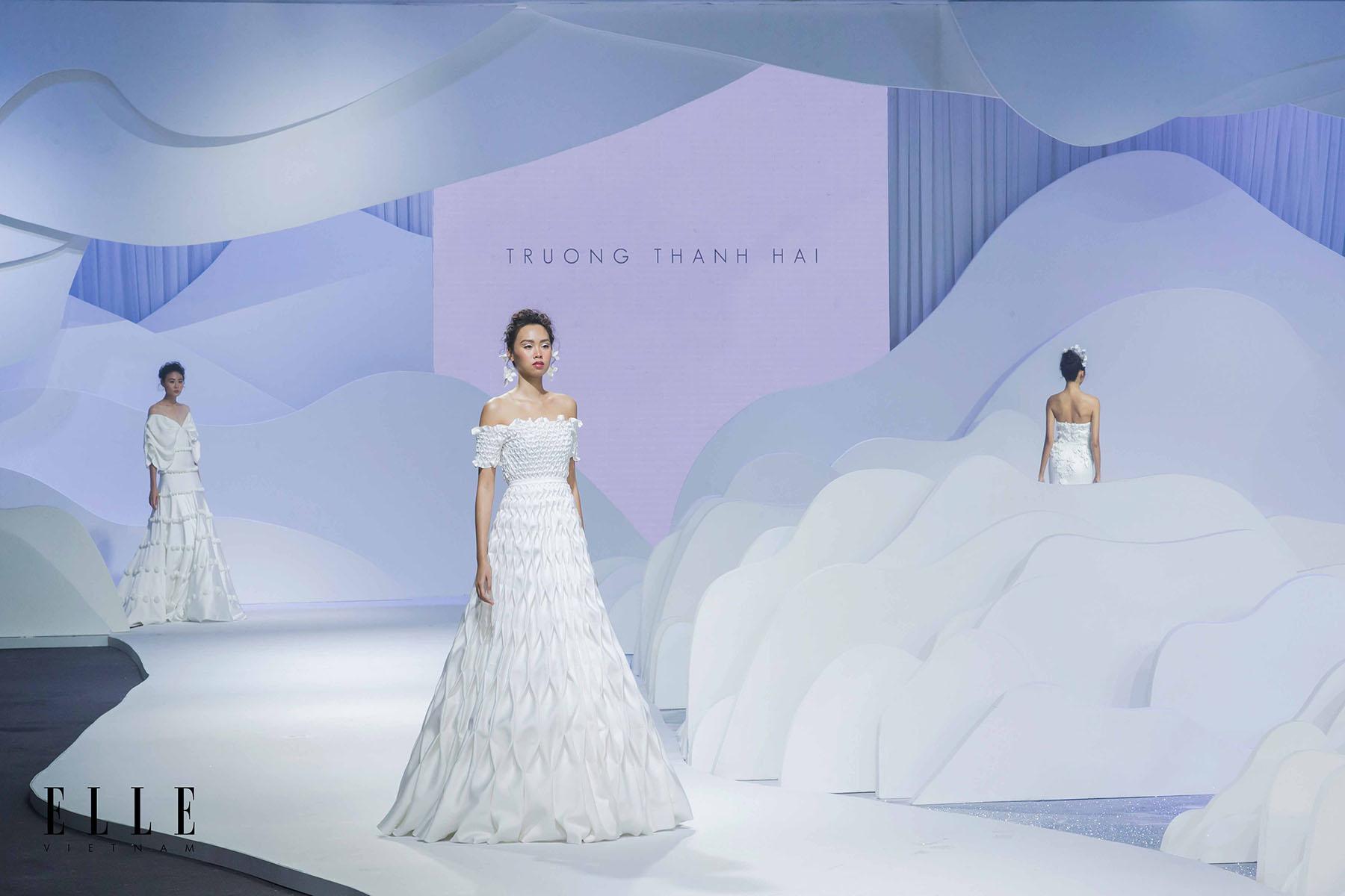 NTK Trương Thanh Hải BST váy cưới và chân váy thiết kế độc đáo
