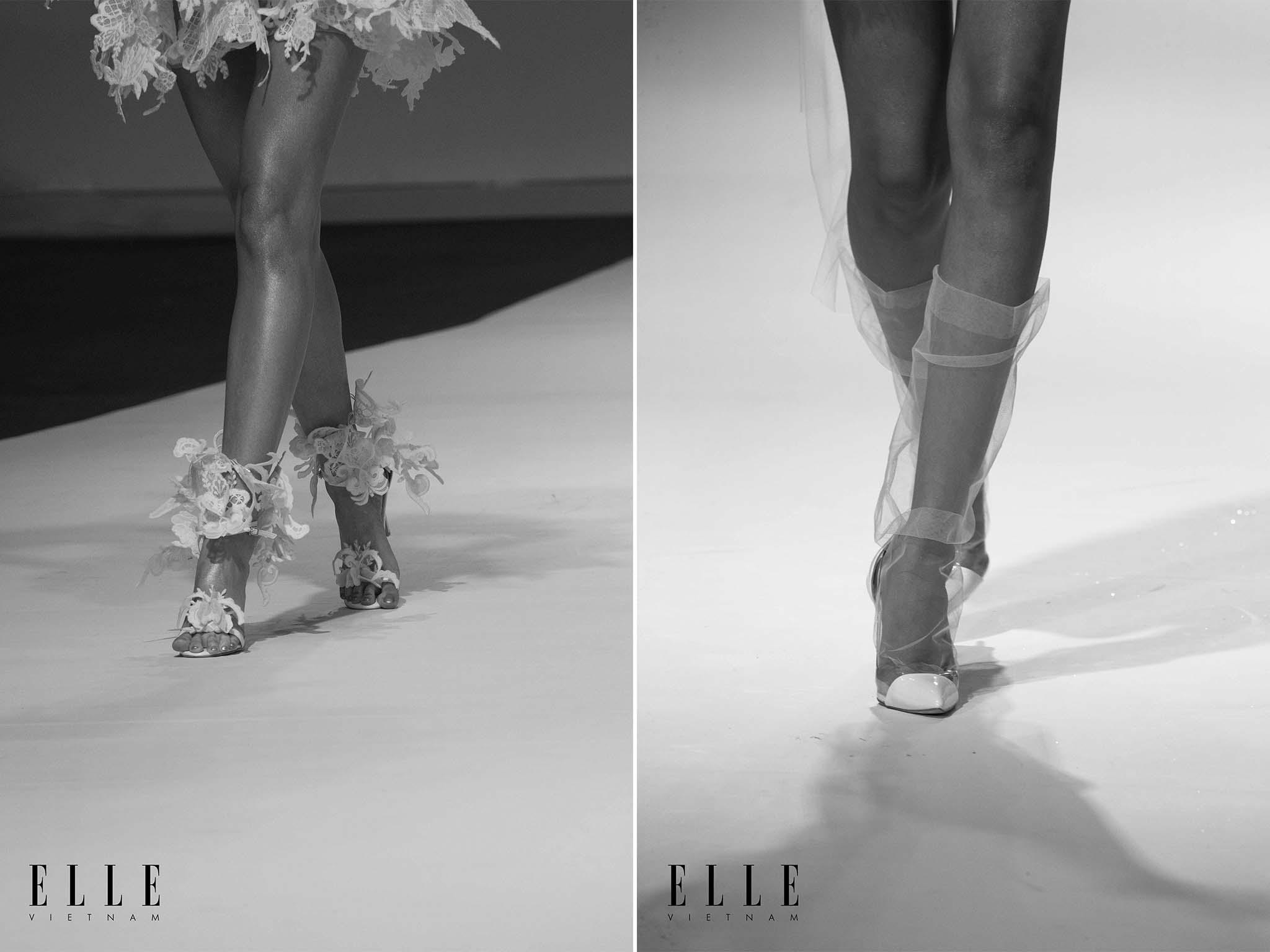NTK Trương Thanh Hải cùng BST váy cưới thiết kế tinh tế từ những chi tiết nhỏ