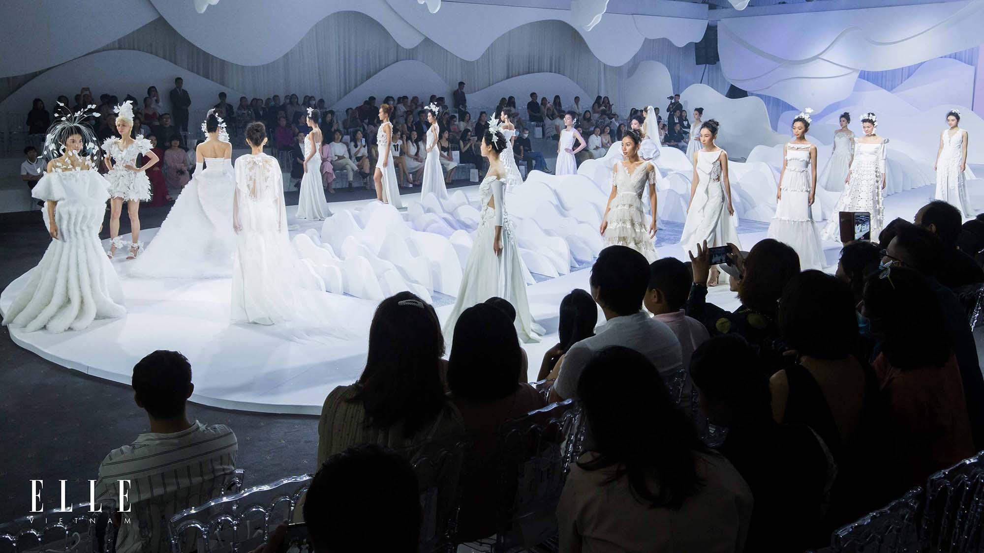 NTK Trương Thanh Hải cùng BST váy cưới và toàn bộ người mẫu thiết kế