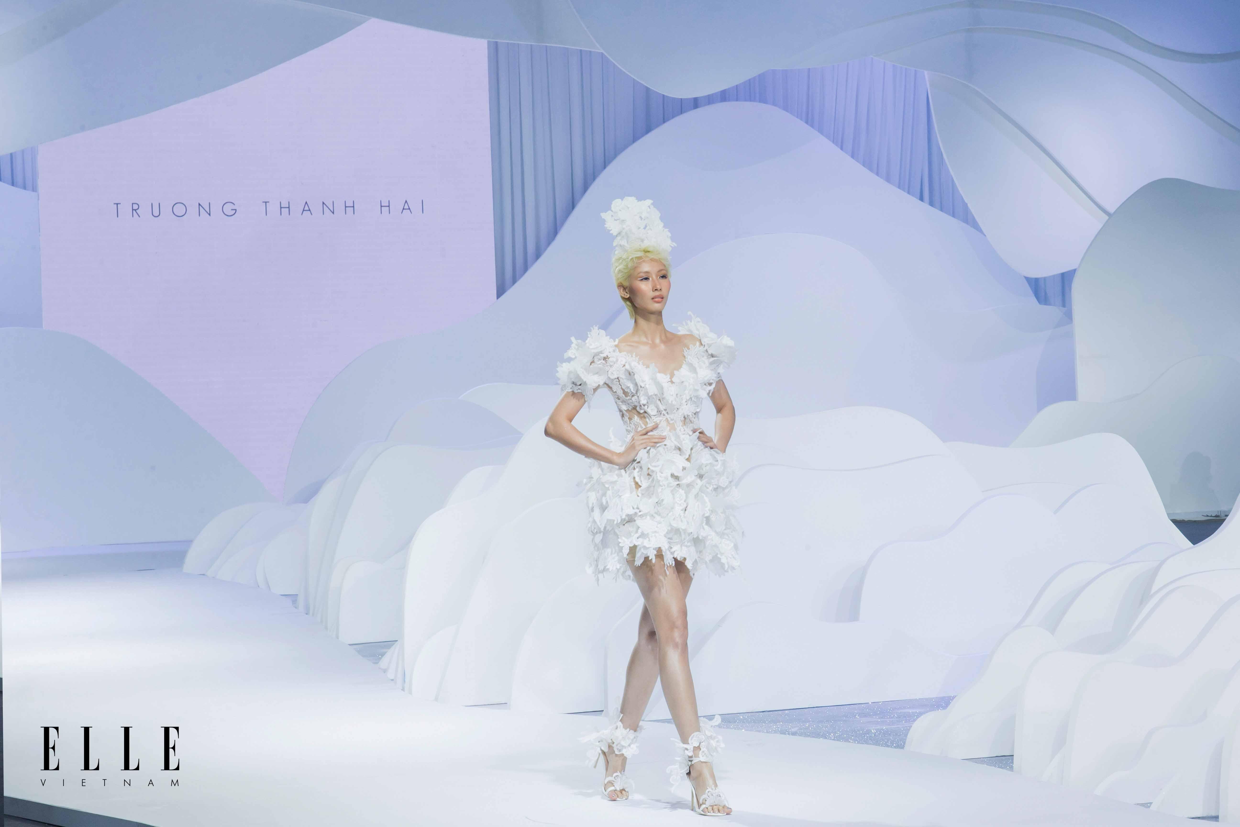 váy cưới ngắn bst trương thanh hải elle wedding art gallery 2020