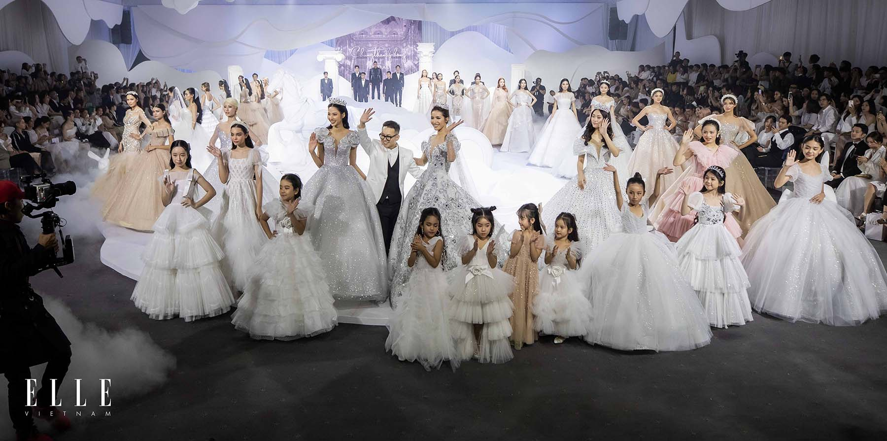 NTK Chung Thanh Phong BST Dear My Princess cùng toàn bộ người mẫu