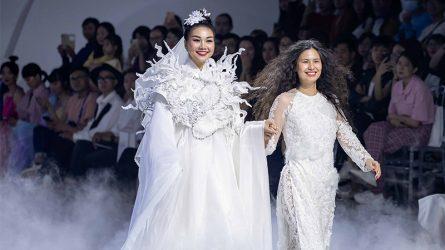 NTK Thủy Nguyễn và BST áo dài cưới về cung bậc tình yêu tại ELLE Wedding Art Gallery 2020