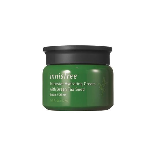 kem dưỡng ẩm Innisfree Intensive Hydrating Cream with Green Tea Seed.