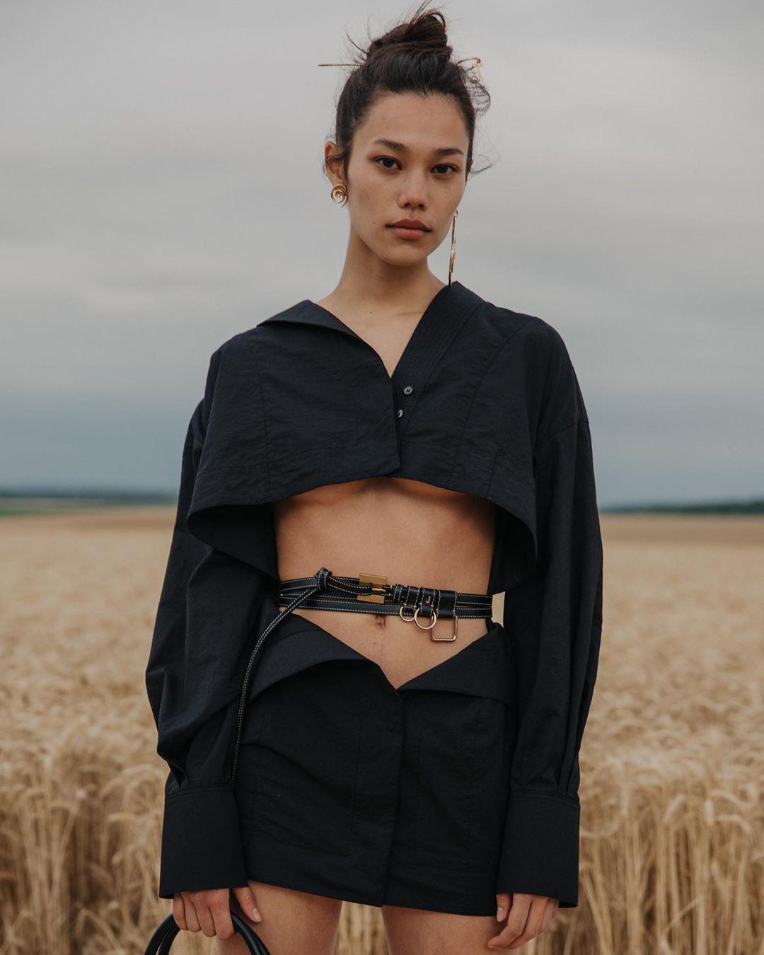 người mẫu thời trang gốc việt jacquemus