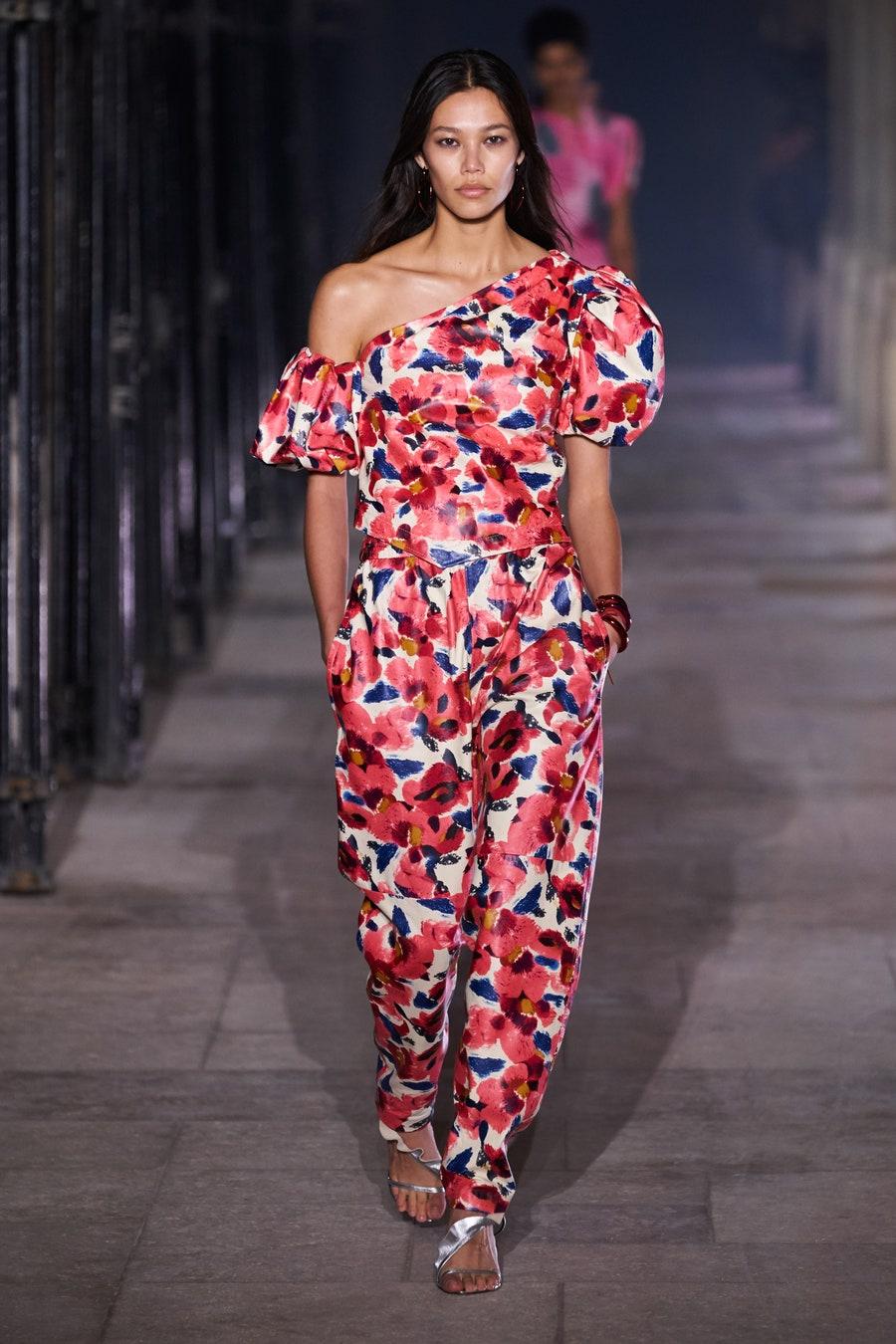 người mẫu thời trang gốc việt Isabel Marant