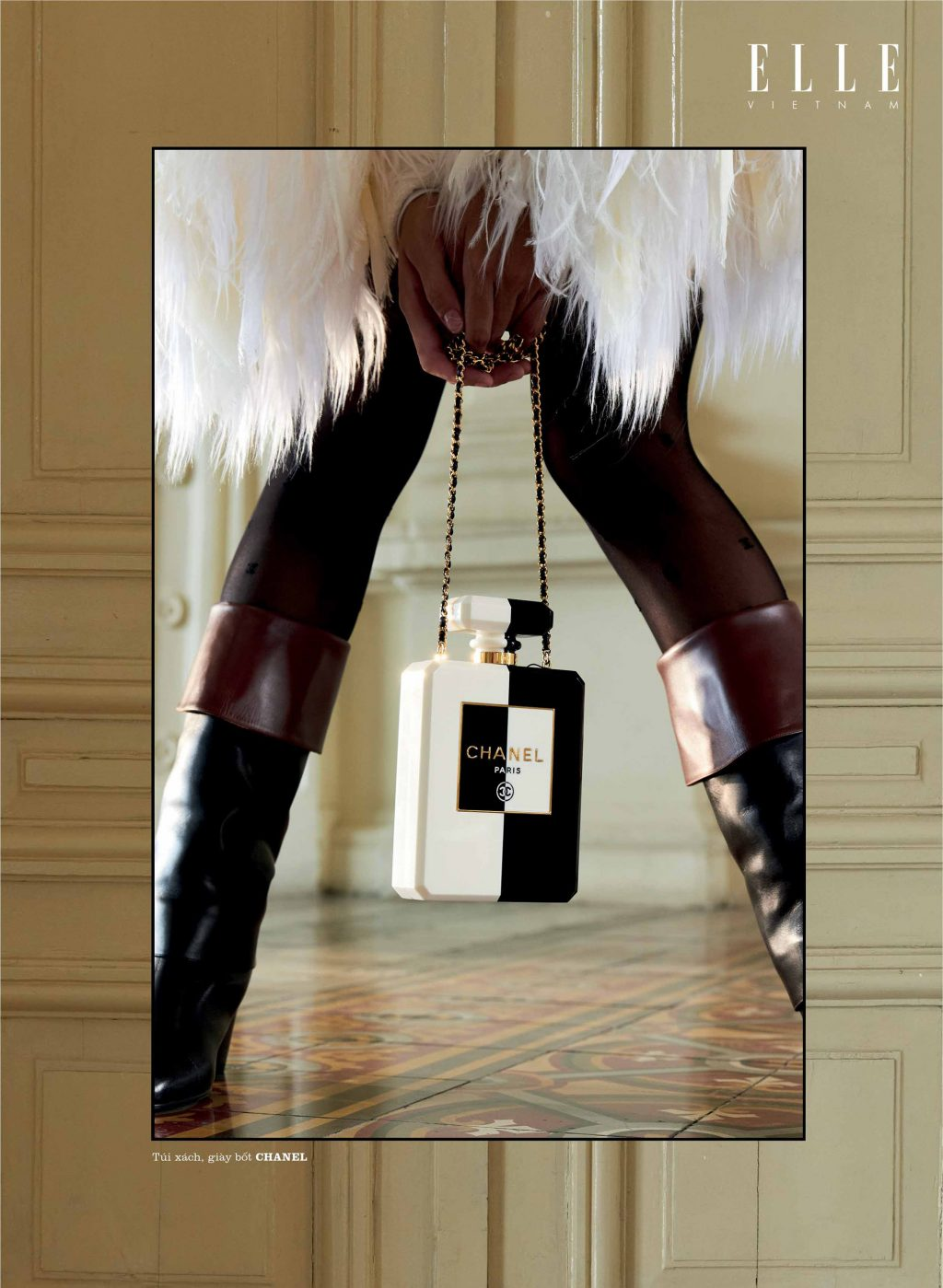 lolita phụ kiện Chanel