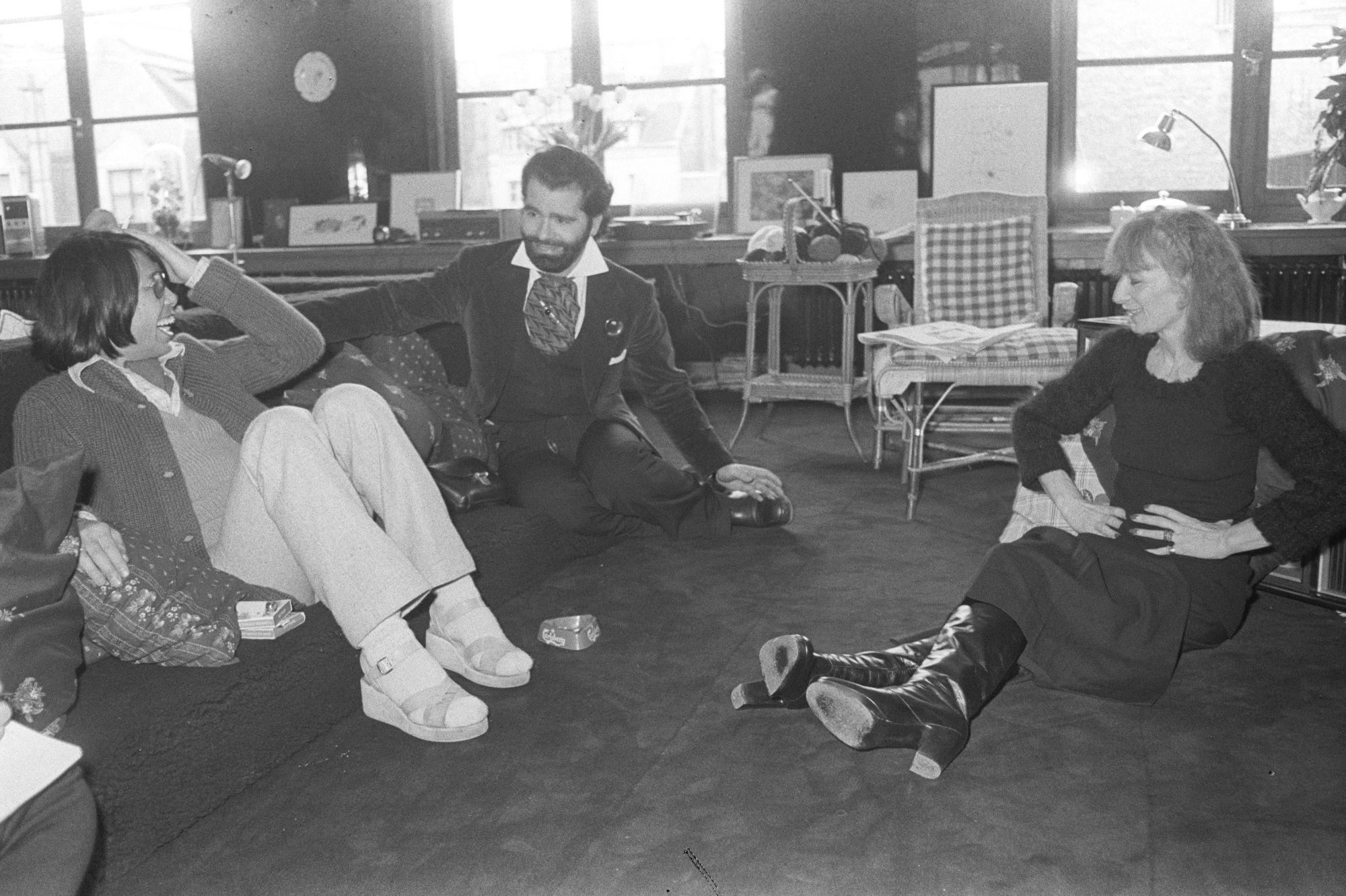 ntk kenzo takada karl lagerfeld và sonia rykiel năm 1973