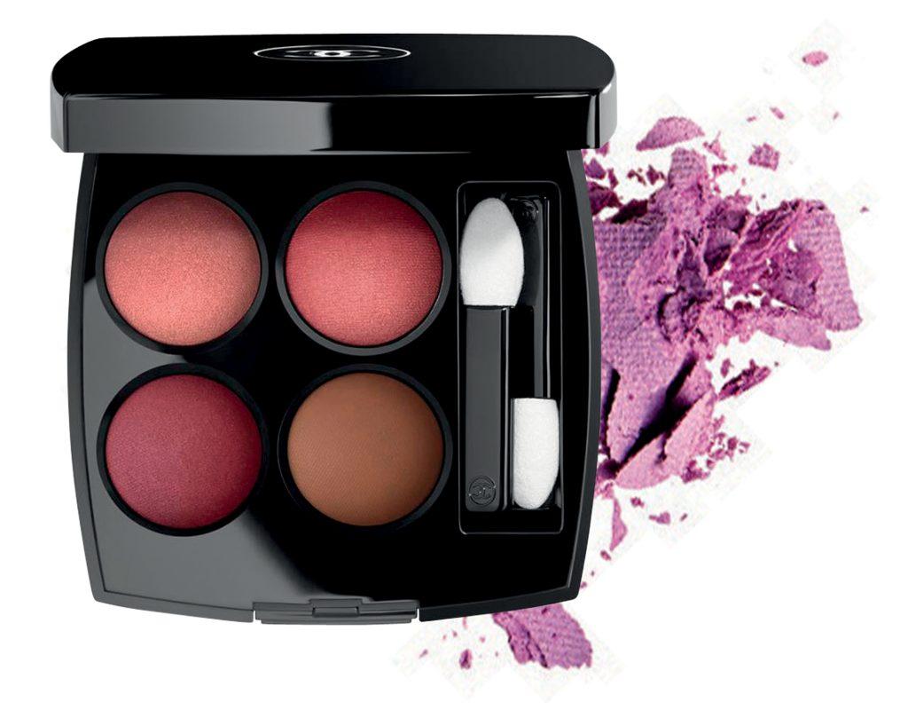 bảng màu mắt trang điểm của Chanel les 4 ombres