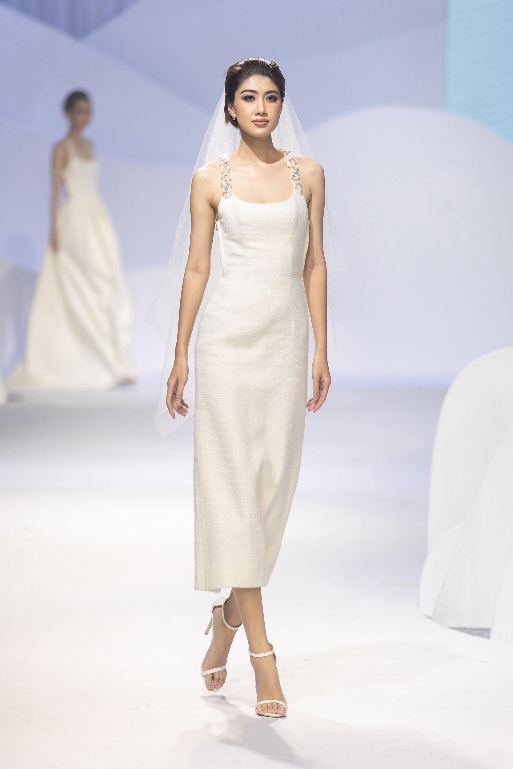 BST Decos Bridal Fall 2020 của NTK Nguyễn Phương đông cùng bộ váy cưới tối giản thanh lịch và hiện đại