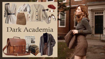 Dark Academia - Phong cách thời trang mang âm hưởng quý tộc châu Âu