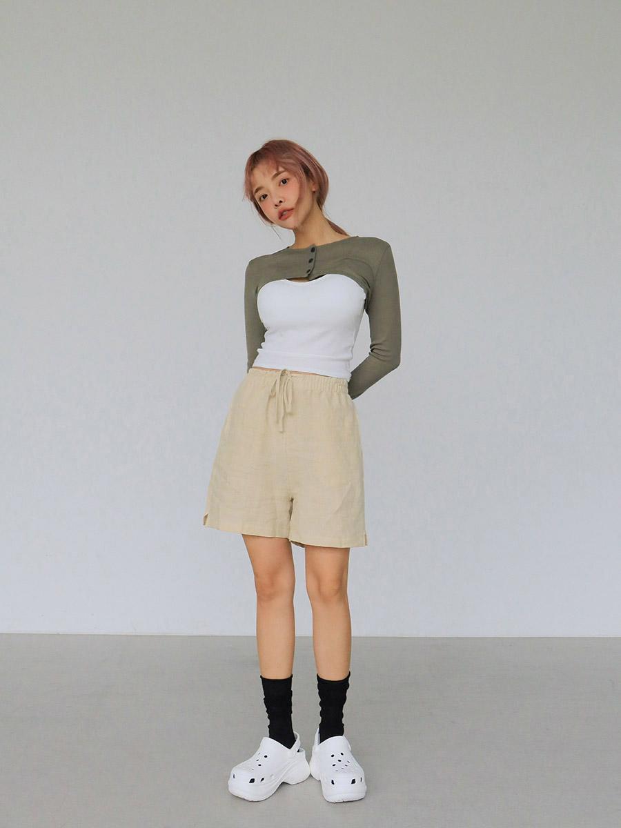 áo cardigan siêu ngắn