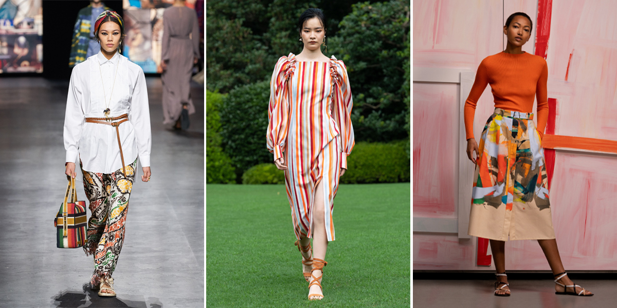 """Xu hướng thời trang Xuân – Hè 2021: Cuộc """"đổ bộ"""" của những kiểu dáng bất quy tắc Dior-Adeam-akris-mau-ngau-hung-Spring-2021"""