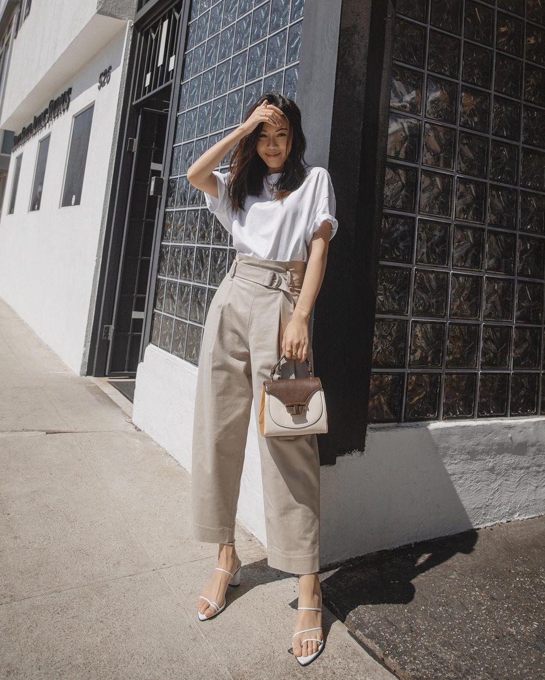 cách phối màu trang phục công sở theo từng nhóm ngành phong cách tối giản