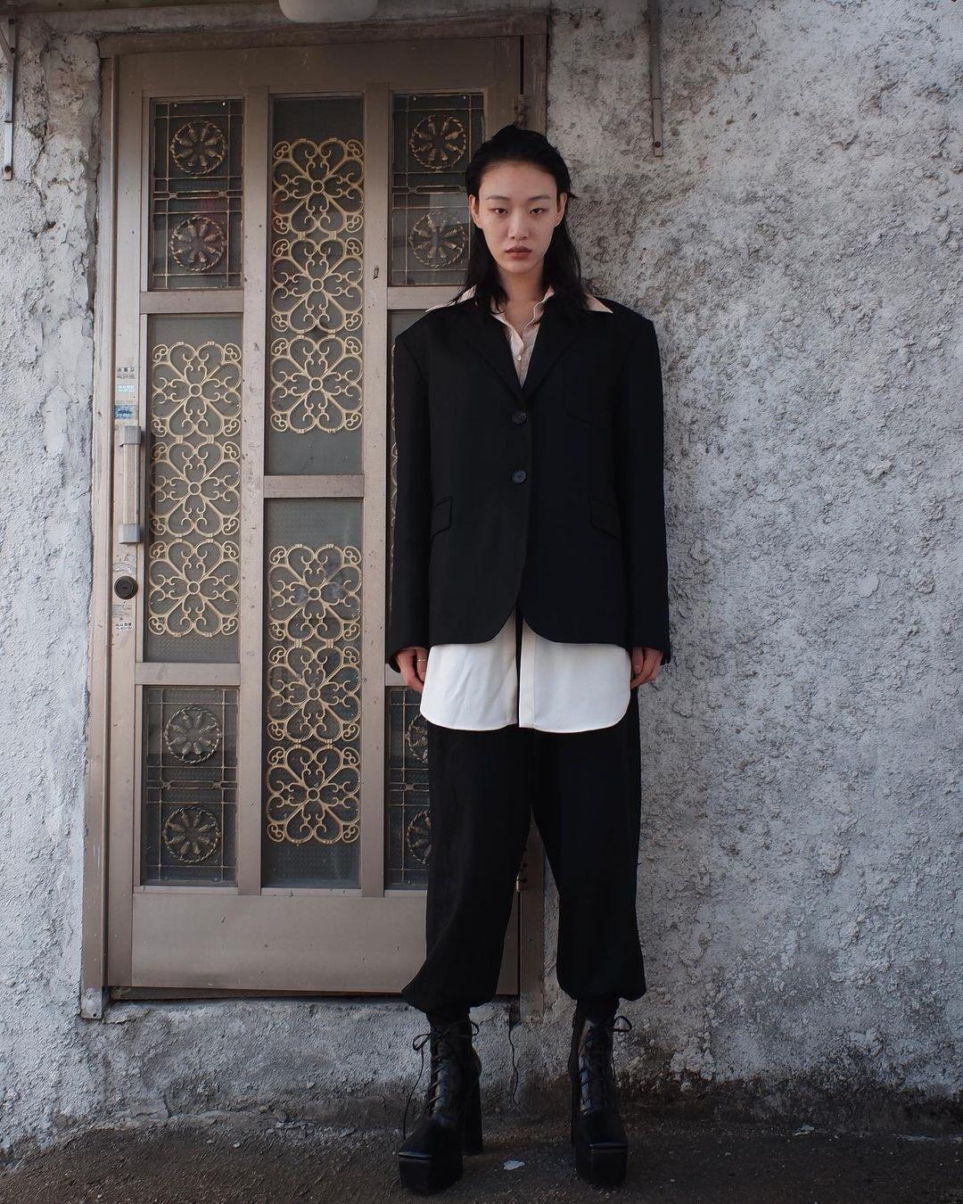 áo blazer bộ suit đồng điệu phong cách menswear