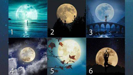 Trắc nghiệm: Chọn một mặt trăng để biết được tính cách và tình duyên của bạn