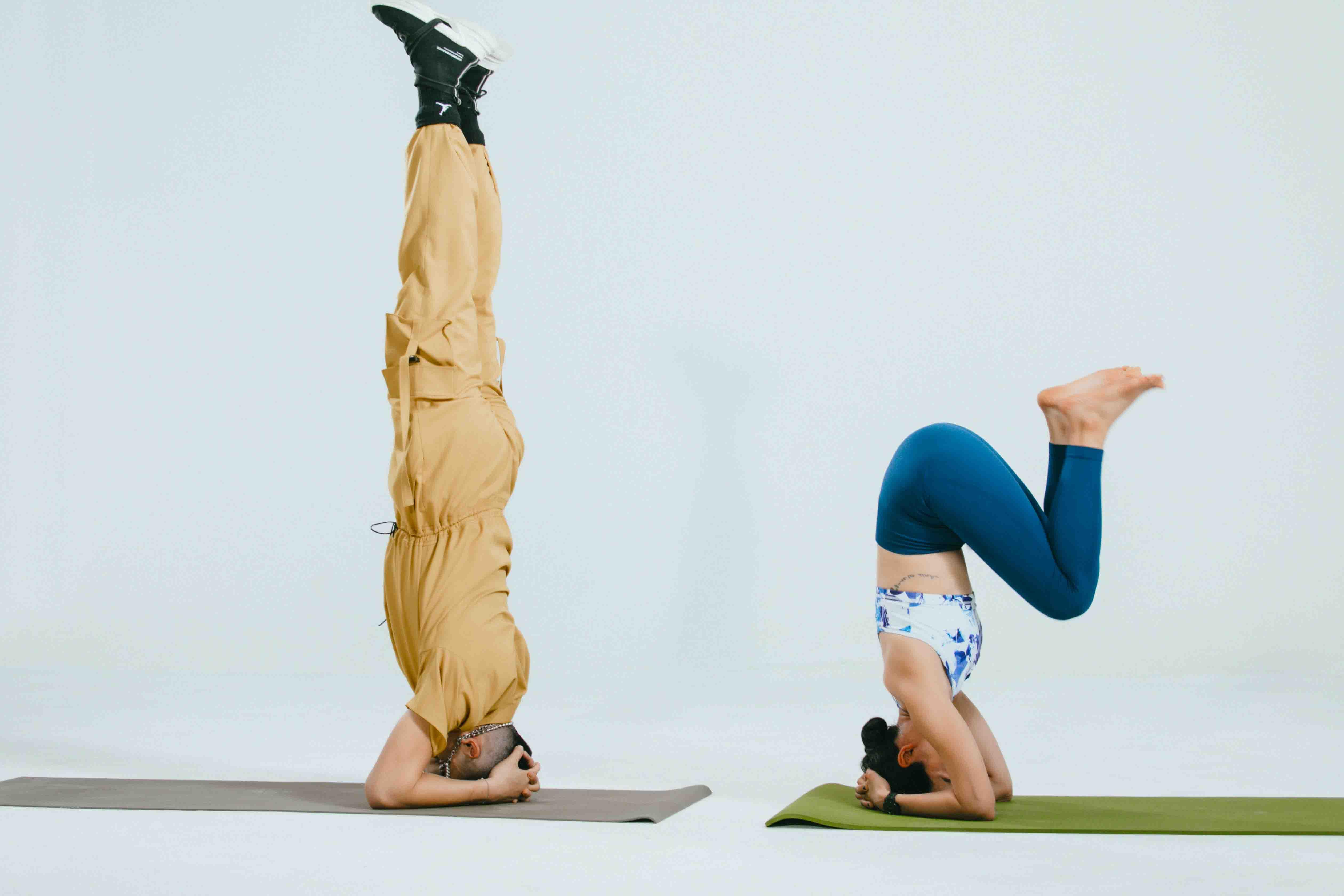 trọng hiếu tập yoga