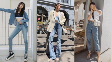 5 kiểu quần jeans
