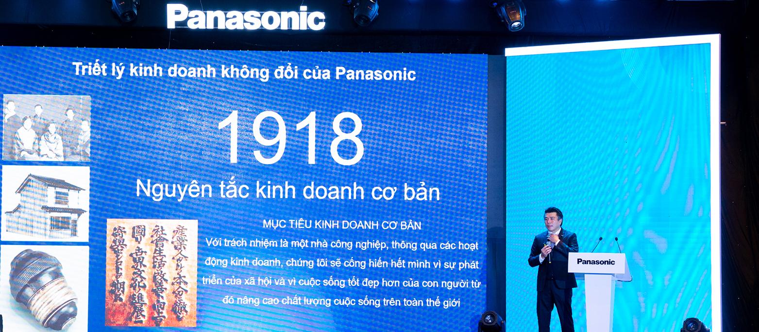 Theo ông Yoichi Marukawa - Tổng giám đốc Panasonic Việt Nam nguyên tắc kinh doanh cần hướng về con người và xã hộiTheo ông Yoichi Marukawa - Tổng giám đốc Panasonic Việt Nam nguyên tắc kinh doanh cần hướng về con người và xã hội