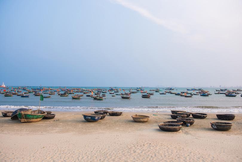 bãi biển mỹ khê ở việt nam