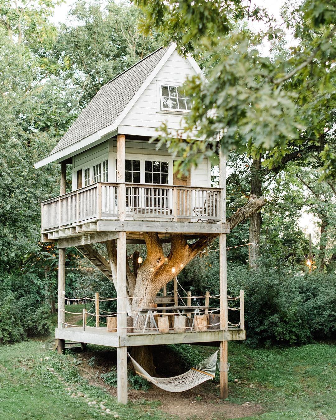 nhà trên cây Camp Wandawega