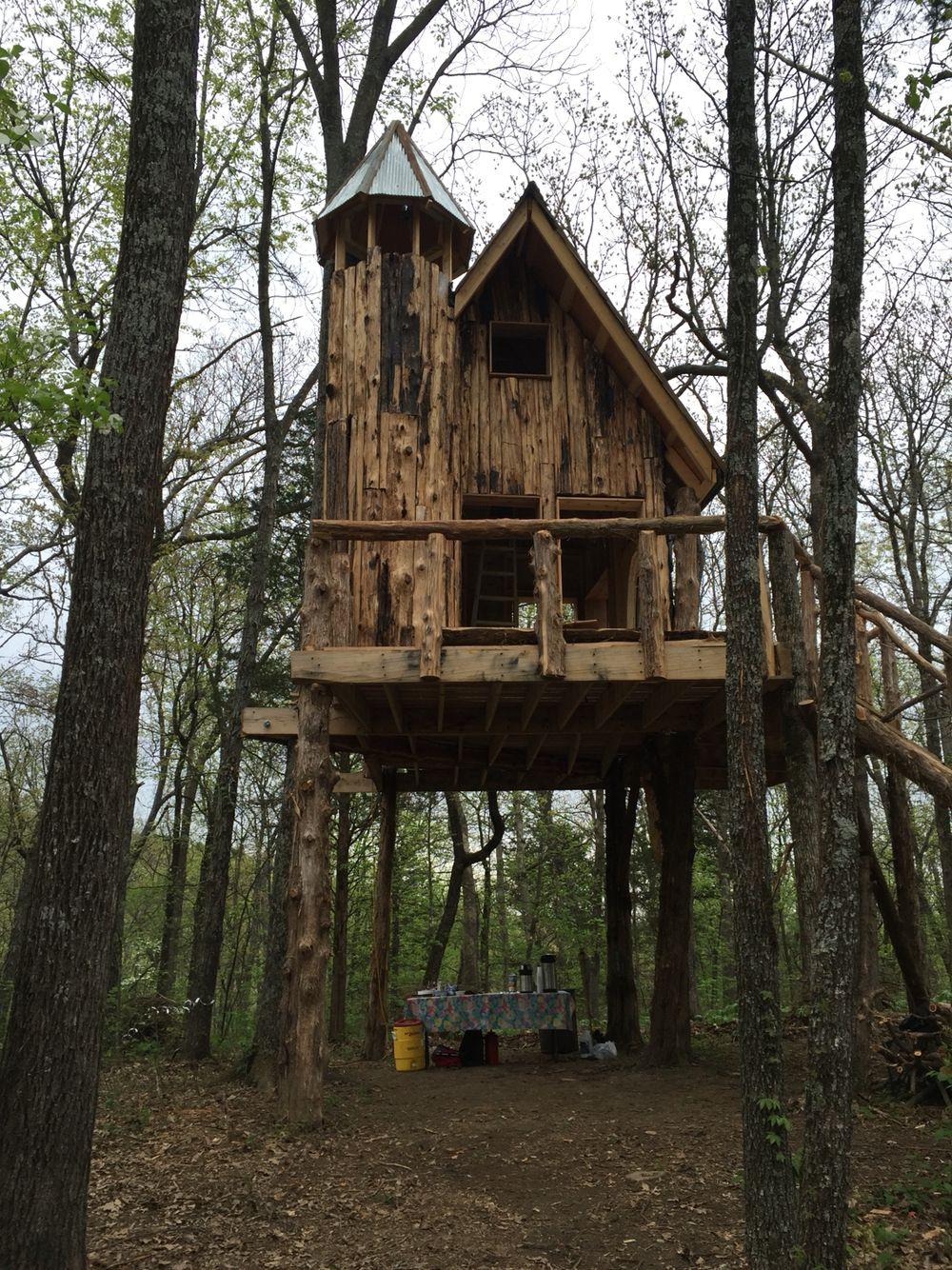 nhà trên cây Wine Country Treehouse