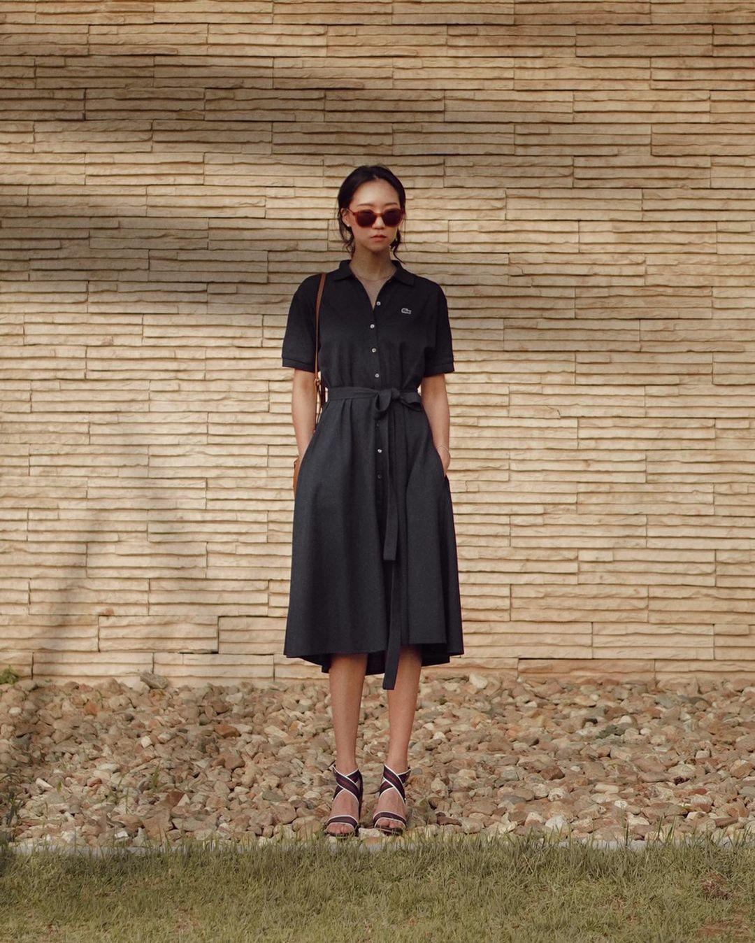 váy đen công sở dress code