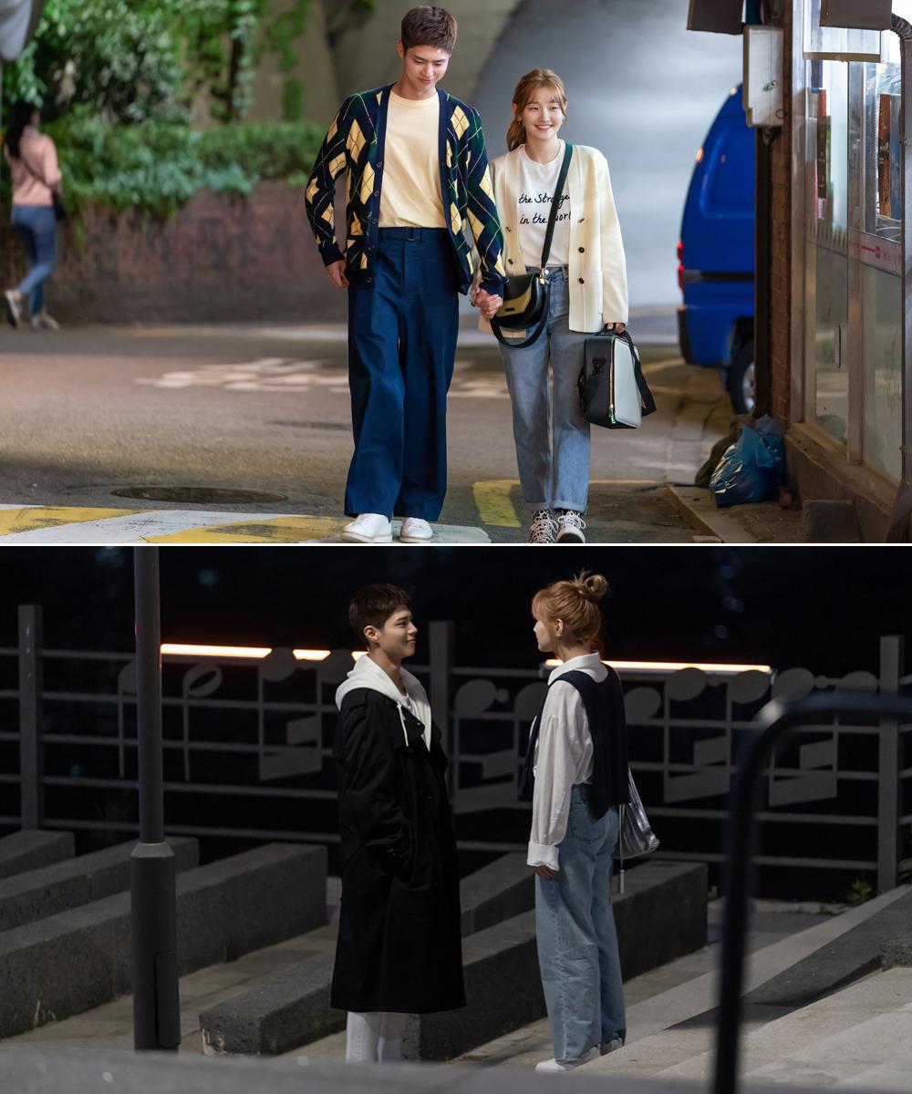 Park Bo Gum và Park So Dam mặc đồ đôi trong phim Hàn Quốc record of youth