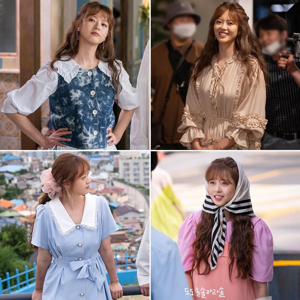 Thời trang cổ điển của Go Ara trong phim Hàn Quốc do do sol sol la la sol