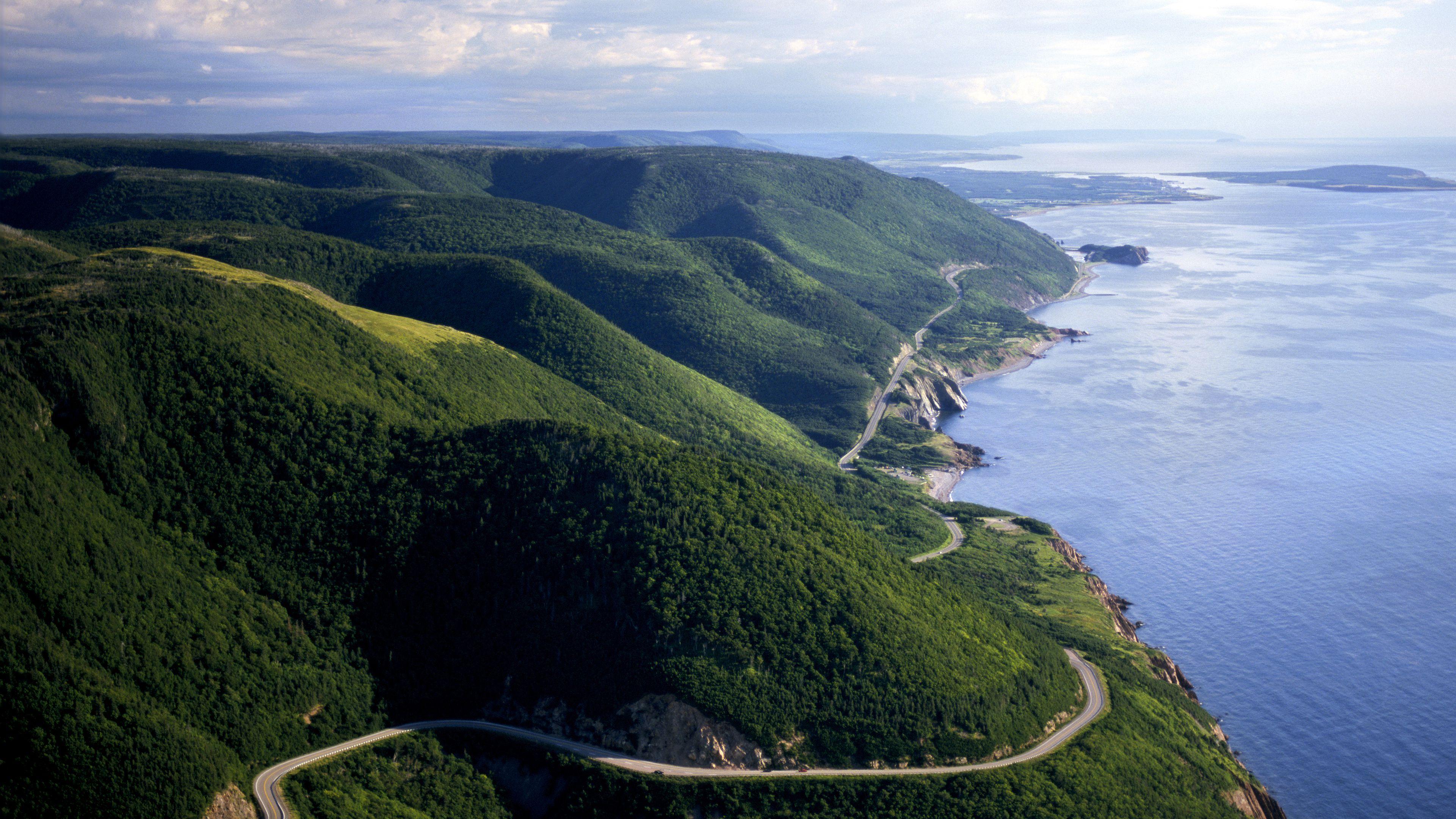 đường cabot trail canada