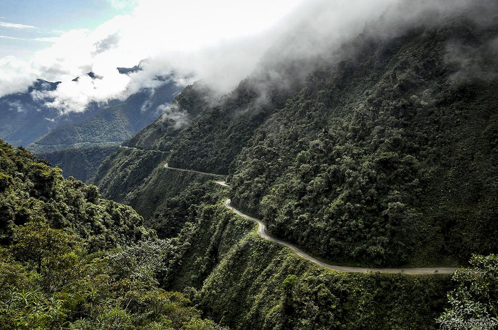 con đường north yungas
