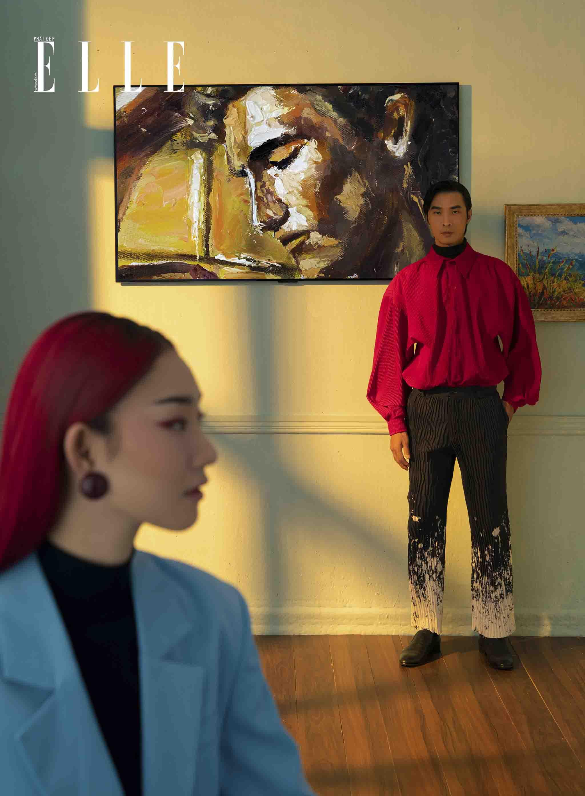 cô gái gặp chàng trai trong bảo tàng nghệ thuật
