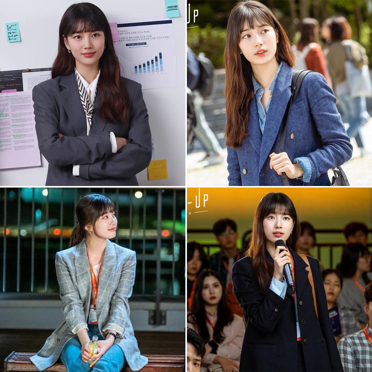 Những kiểu blazer của Suzy trong phim start up