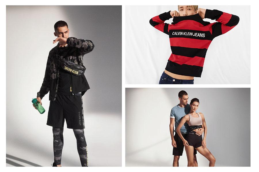 giảm giá thời trang Calvin Klein